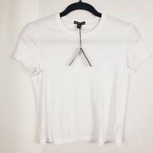 Nwt james perse white tee t-shirt xs